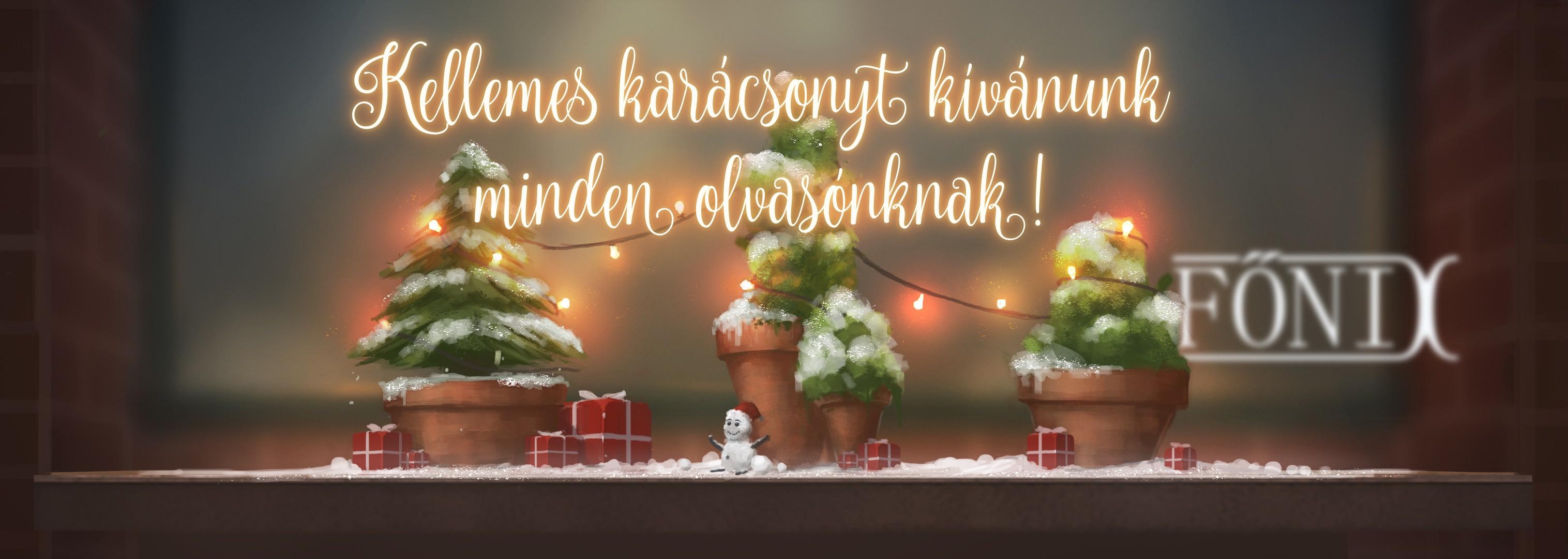 Kellemes karácsonyt kívánunk minden olvasónknak!
