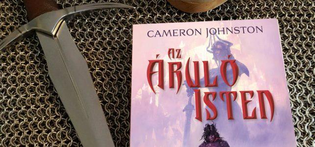 Az író és kardforgató: Cameron Johnston